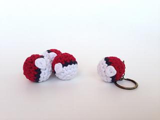 Ravelry: Crocheted Pokeball pattern by Louis Mensinger