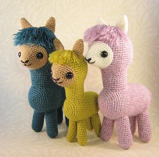 Amigurumi Stuffing Alternatives : Ravelry: Alpaca Family Amigurumi pattern by Lucy Collin