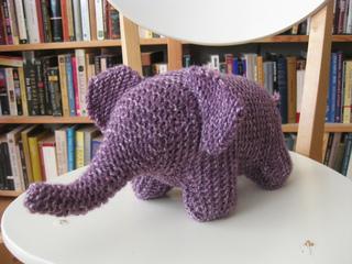 Ravelry: Garter Stitch Elephant pattern by Phylis Tucker