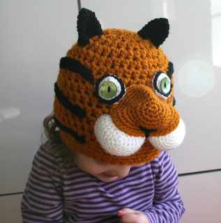 Ravelry: Tiger beanie hat (45) with 4 sizes from newborn ...