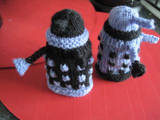 Ravelry: Dalek Egg Cosy pattern by Lyles Knit
