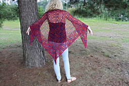 Floating Butterflies Shawl PDF