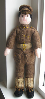 Free Knitting Pattern Toy Soldier : Ravelry: Soldier Doll pattern by Finella