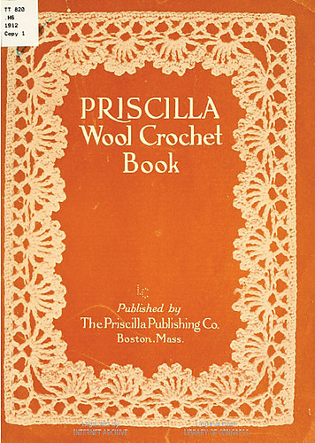 Book Cover Crochet Uk : Ravelry the priscilla wool crochet book patterns