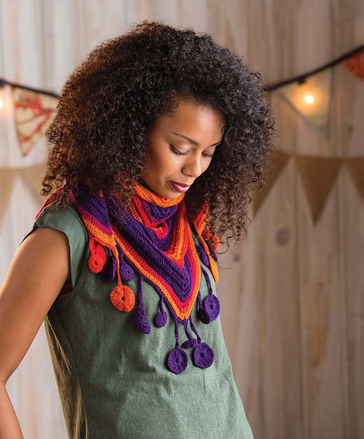 Transverse Cowl Knitting Pattern : Outstanding Crochet: Review on Interweaves new book