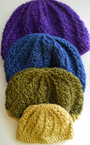 ravelry not quite a slouchy hat pattern by marie segares