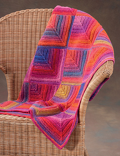 ravelry sunset squares pattern by the staff at martingale
