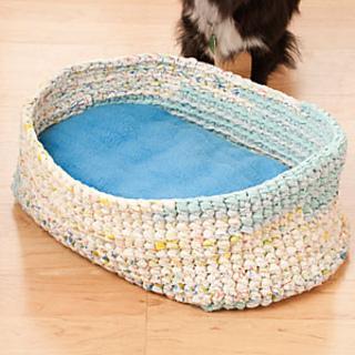 Ravelry: Sweet Dreams Pet Bed pattern by Wanda Jean Mayhall