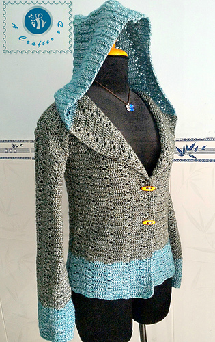 Ravelry Women S Hooded Sweater Pattern By Maz Kwok