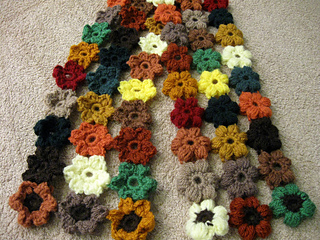 Puff_flower_scarf_-_fall_colors_4_small2