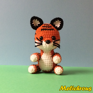 Ravelry: Toodles the Tiger Pattern Crochet Amigurumi PDF ...