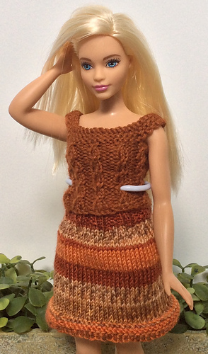 Ravelry Curvy Barbie Outfit I Pattern By Kelly Kayfish
