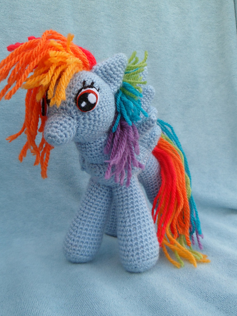 Knit One Awe Some My Little Pony Friendship Is Magic