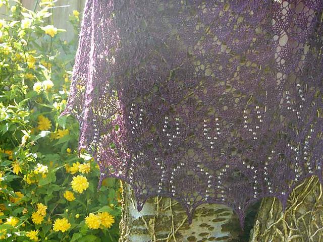 Design: Juliet's Shawl by Samantha Woollard