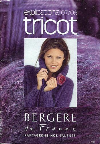Bergere De France Magazine Creations Aw15 16: Ravelry: Bergère De France Explications Tricot 2007/2008