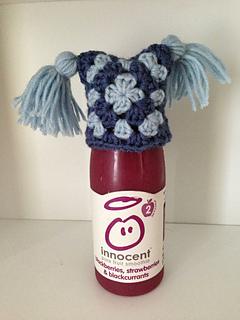 Innocent Smoothie Big Knit Patterns : Ravelry: Innocent Big Knit Granny Square Hat pattern by Hannah Whelan