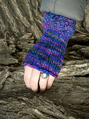 Paradise Valley Fingerless Mittens    PDF
