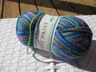 Ravelry Plymouth Yarn Galway Paint