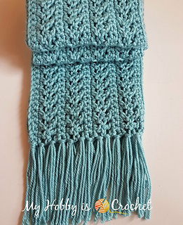 Ravelry Go With The Flow Super Scarf Pattern By Kinga Erdem