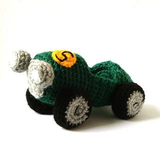 Ravelry: Amigurumi Race Car pattern by Ana Yogui