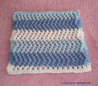 Ravelry: Lace Zig Zag dishcloth pattern by Lucie Melahn