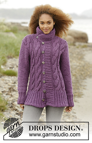 Drops Knitting Patterns : Ravelry: 172-39 Winter Orchid pattern by DROPS design