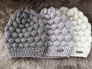 Free Knitting Pattern Beanie 8 Ply : Ravelry: Raspberry Beanie pattern by Natalie Andriani ...