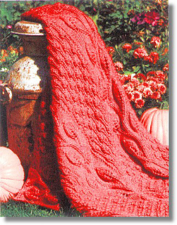 Knitted Afghan Patterns With Big Needles : Ravelry: Big-Needle Knit Afghans - patterns