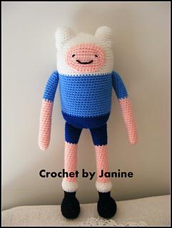 Ravelry: Finn - Adventure Time pattern by Janine Tsakisiris