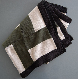 Dog Tooth Knitting Pattern : Ravelry: Dog Tooth Throw pattern by Michael del Vecchio