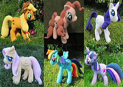 Ravelry: Rainbow Dash from My Little Pony pattern by The