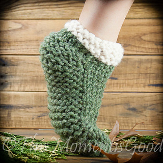 Ravelry: Cabled Clog Slipper pattern by Nicole F. Cox
