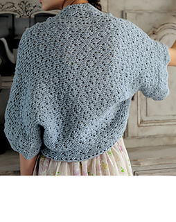 Ravelry: Leaf-patterned Shrug pattern by Yoko Hatta (???)