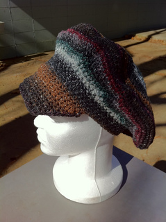 Dark_multicolor_brimmed_cap_side_small2