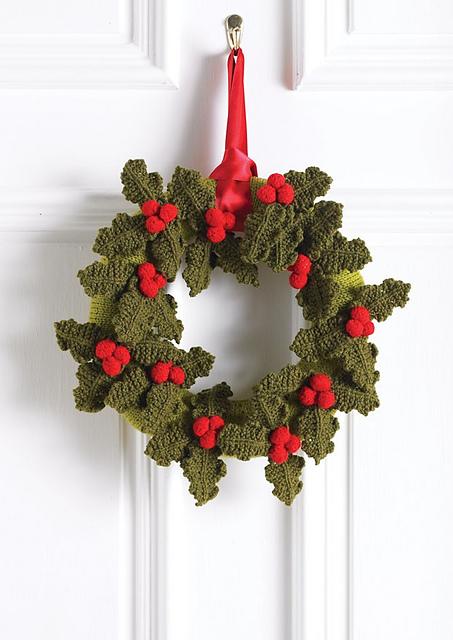 """""""holly wreath"""