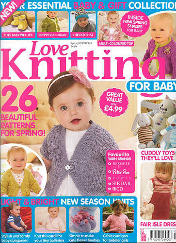 Knitting For Babies Magazine : Ravelry love knitting for baby spring patterns