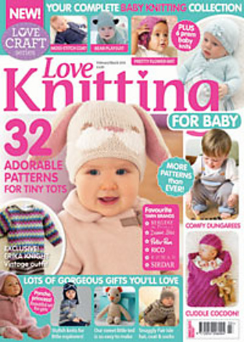 Knitting For Babies Magazine : Ravelry love knitting for baby february march