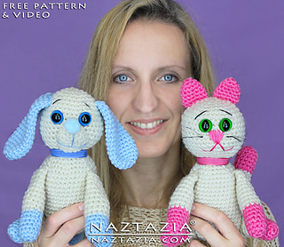 Diy-free-pattern-crochet-dog-cat-pup-puppy-kitty-kitten-amigurumi-stuffed-plush-toy_small2