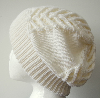 Free Cable Knit Hat Pattern : Ravelry: Slouchy Cable Hat pattern by Mari-Liis Hirv