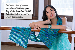 Day at the Beach Scarf PDF