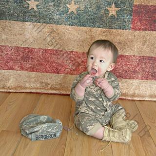 Ravelry: Baby Combat Boots pattern by Angela Bergeron
