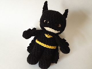 Free Amigurumi Batman Pattern : Ravelry: Batman Inspired Amigurumi Super Hero pattern by ...