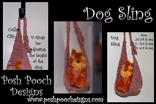 Ravelry dog sling carrier pattern by sara sach - Pattern for dog carrier sling ...