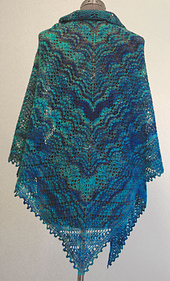 Grapevine Lace Knitting Pattern : Ravelry: Grapevine Shawl pattern by Robyn Gallimore