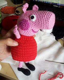 Amigurumi Deer Pattern : Ravelry: Peppa Pig Amigurumi pattern by Sabrina Boscolo