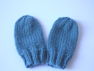 Free Knitting Patterns For Childrens Mittens : Ravelry: Fast Baby Mittens pattern by Lucy H. Lee