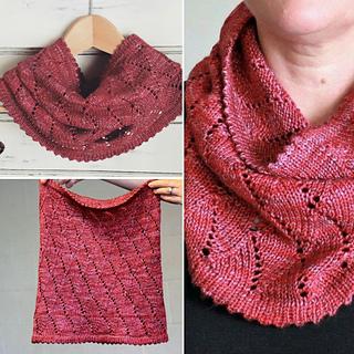 Pashmina Cowl Knitting Pattern : Ravelry: Pashmina cowl pattern by Black Crow Knits