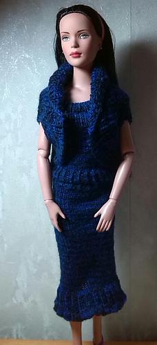 Free Knitting Patterns For Tonner Dolls : Ravelry: Basic Skirt and Top for Tonner Tyler pattern by ...