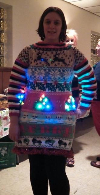 Ugly Christmas Sweater Dress - KNITTING