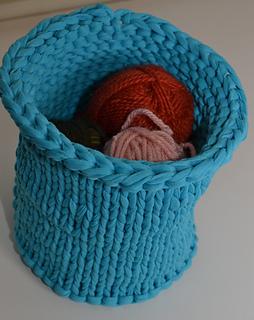 Knitting Patterns For Zpagetti Yarn : Ravelry: Zpagetti Knit Bowl pattern by Sarah E. White